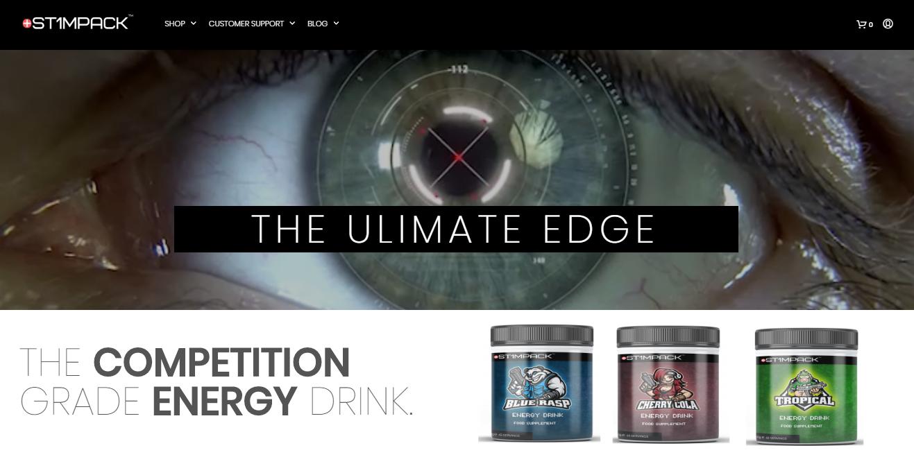 gaming energy drink